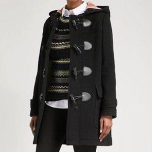 Burberry London Nova Wool Toggle Duffle Coat